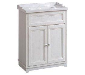 Biała szafka z umywalką 60 cm Palace Andersen