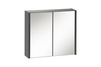 IBIZA ANTRACYT 840 Szafka z lustrem 2D 60 cm