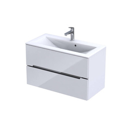 Oristo Szafka pod umywalkę 90 cm Silver biała