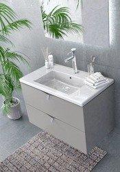 Oristo Zestaw mebli łazienkowych 80 cm SIENA ciepły szary mat