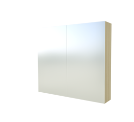 Szafka Scandic 842 z lustrem, jesion 80 cm