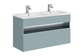 Szafka z umywalką 120 cm Bahama Mint + Spirit 120D