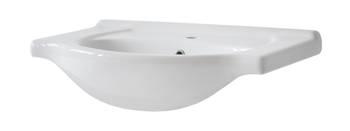 VINTAGE WHITE 65 - Umywalka meblowa 65 cm ceramiczna