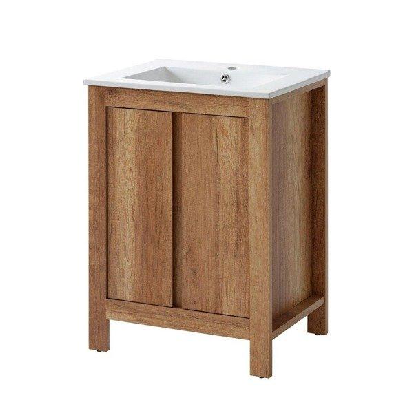 Meble łazienkowe Classic dąb 60 cm