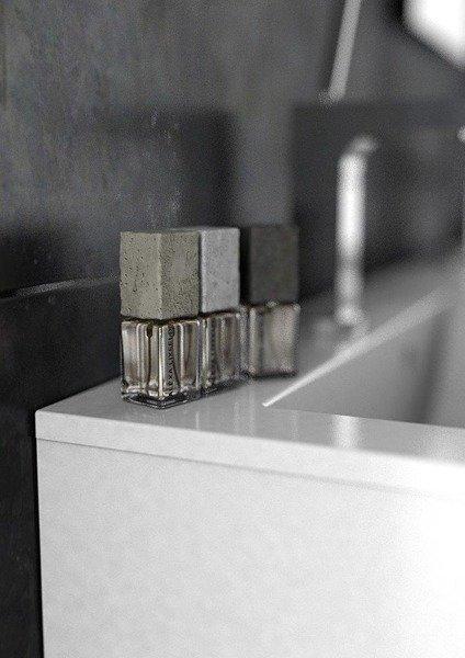 Oristo Szafka pod umywalkę 120 cm Silver szary mat podwójna