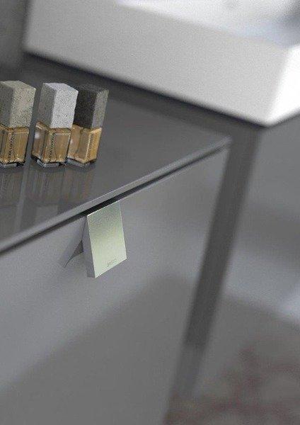 Oristo Szafka pod umywalkę 60 cm BOLD grafit połysk