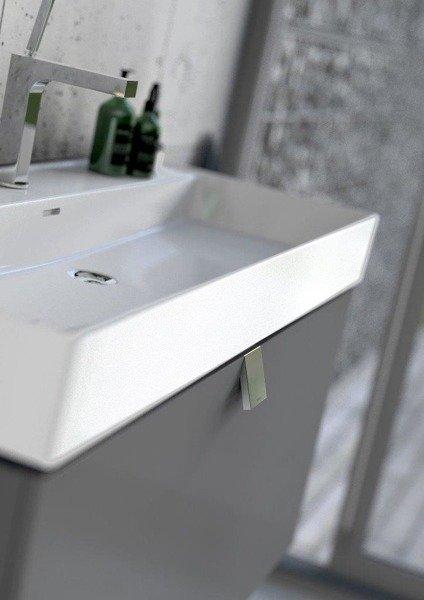 Oristo Szafka pod umywalkę 80 cm BOLD biały połysk