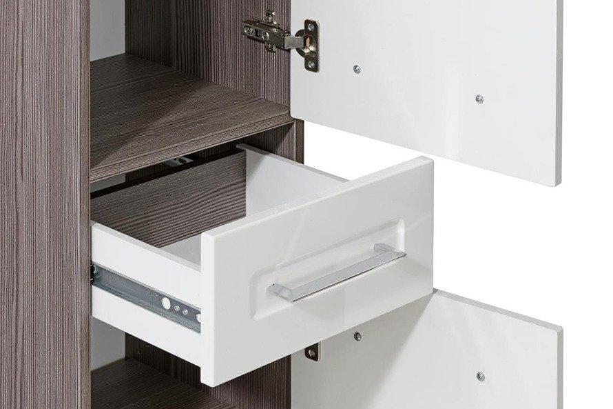 Słupek łazienkowy Cosmo II biały połysk