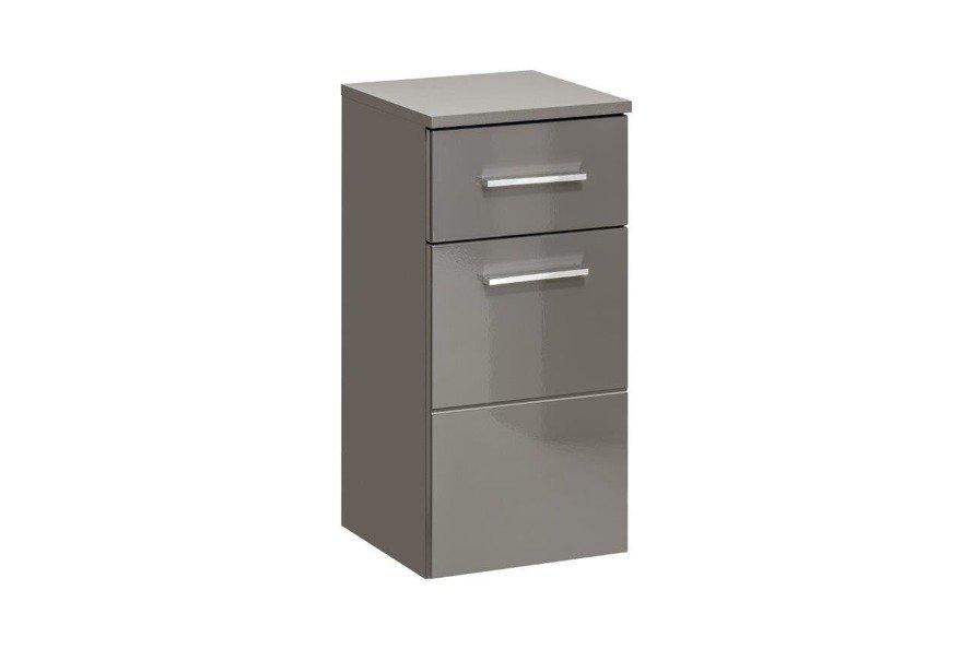 Szafka niska łazienkowa Twist Grey