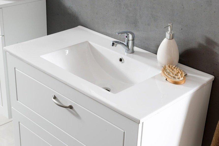Szafka pod umywalkę 80 cm Sophia biała