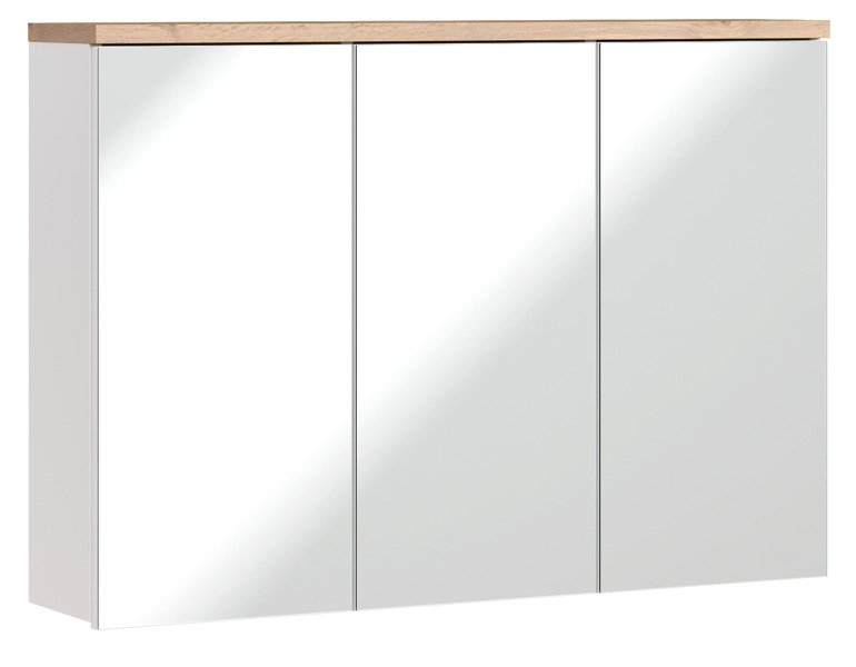 Szafka z lustrem 100 cm Bali Biały