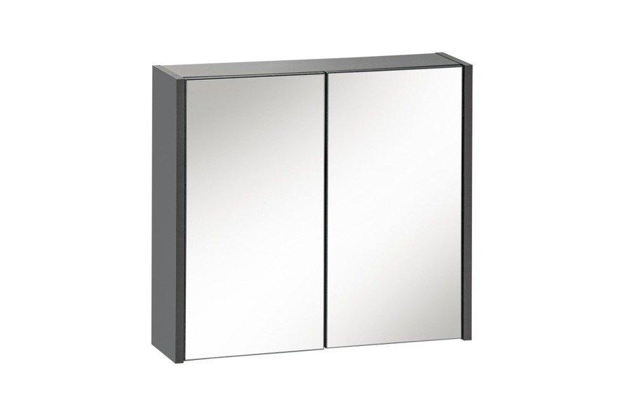 Szafka z lustrem 60 cm Ibiza Antracyt