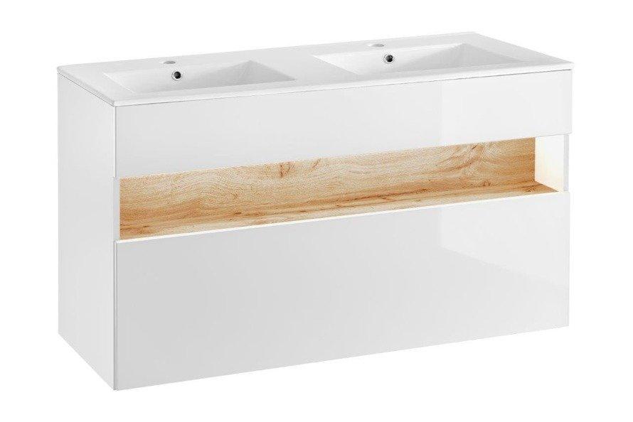 Zestaw mebli łazienkowych 120 cm Bahama White