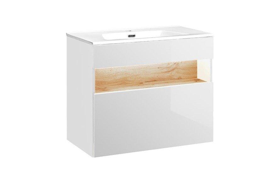 Zestaw mebli łazienkowych Bahama White 80 cm