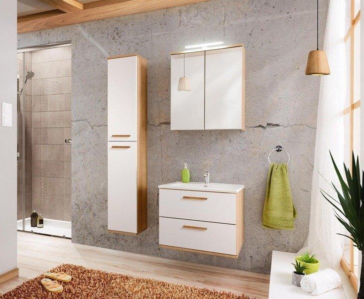 Zestaw mebli łazienkowych Remik Riviera / biały 60 cm